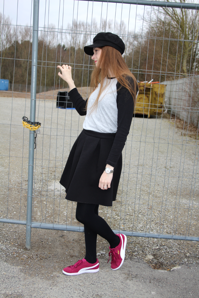 sporty casual fashion look