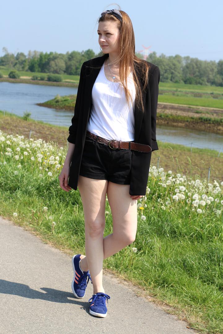 Summer Fashion Shorts Blazer