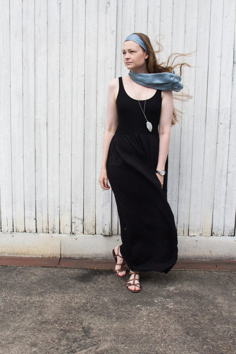 Summer look maxi dress