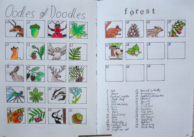 Oodles of Doodles Forest 2019