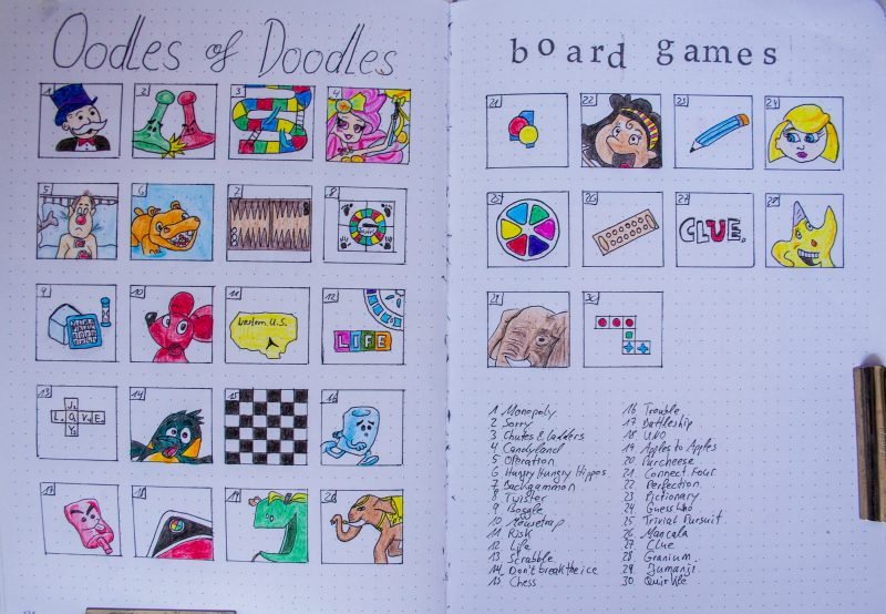 Oodles of Doodles September 2019