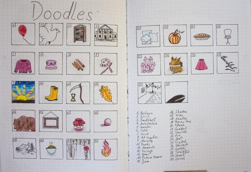 Doodle Challenge November 2019