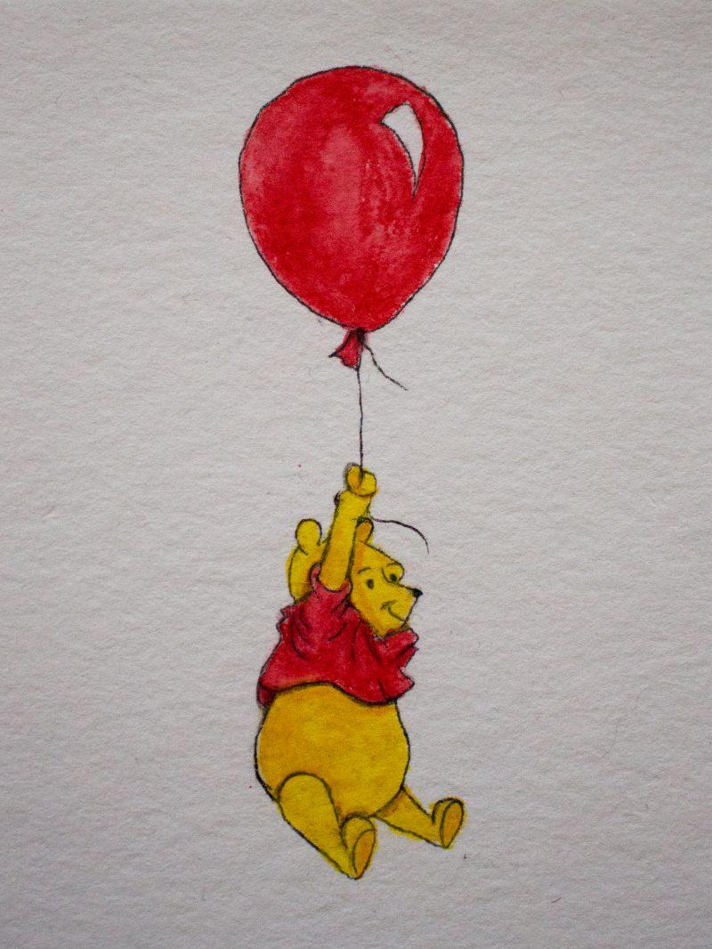 Winnie Pooh Watercolor